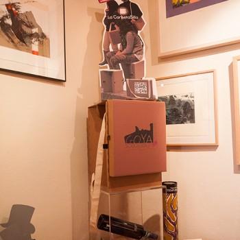 Fundación Fuendetodos Goya con la Carpeta SIlla