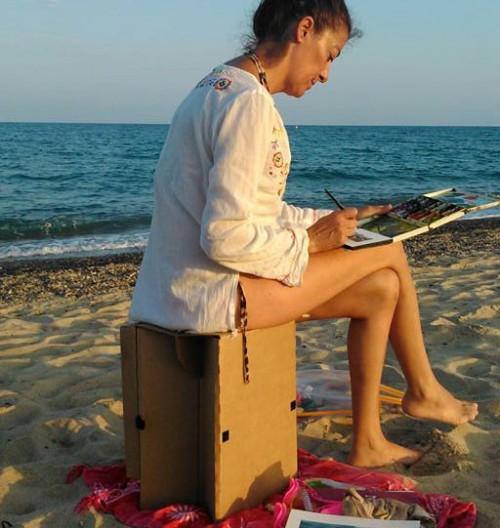 La Carpeta Silla, Para la Playa