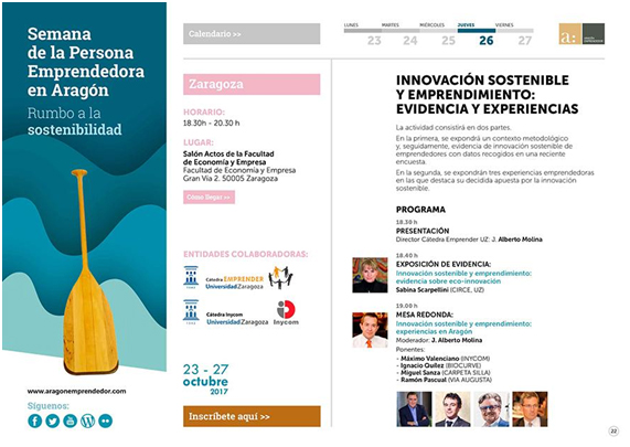 """""""Innovación Sostenible y Emprendimiento"""""""