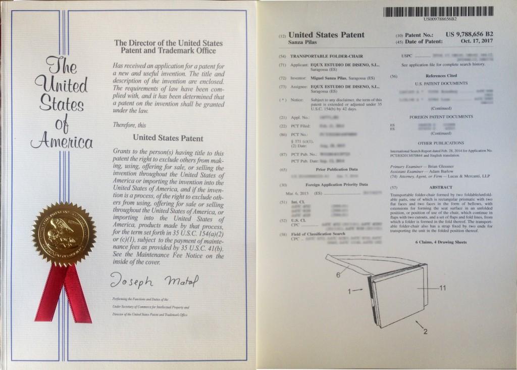 Patente en USA