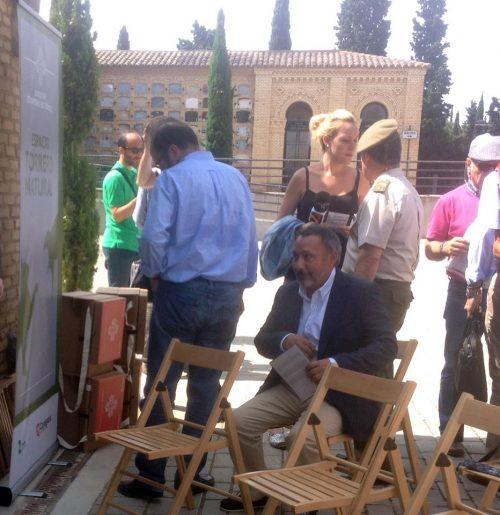 Presentación de La Carpeta Silla en la Inauguración
