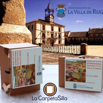 """La Carpeta Silla en el Certamen Internacional de Pintura Rápida """"Villa de Riaza"""":"""